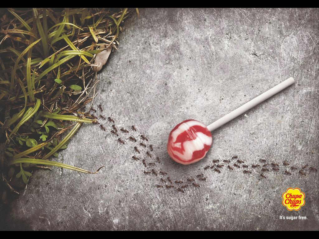 تبلیغات خلاق : چرا مورچهها این آبنبات را دوست ندارند؟